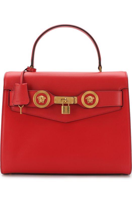 Купить Сумка Tribute Versace, DBFG311/DV1T, Италия, Красный, Кожа натуральная: 100%; Кожа: 100%;