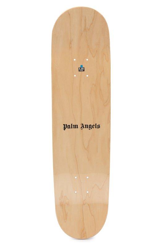 Купить Доска для скейтборда Palm Angels, PMRD002S183070419900, США, Фиолетовый, Полимер: 100%;