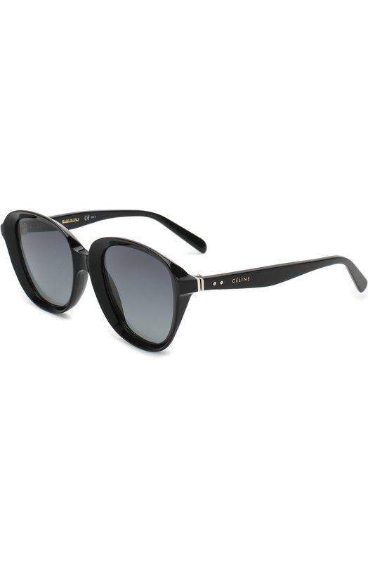 Купить Солнцезащитные очки Céline Eyewear, 41448 807, Италия, Черный