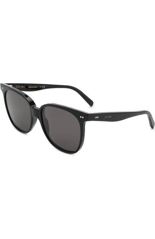 Купить Солнцезащитные очки Céline Eyewear, CL40022I 01A, Италия, Черный