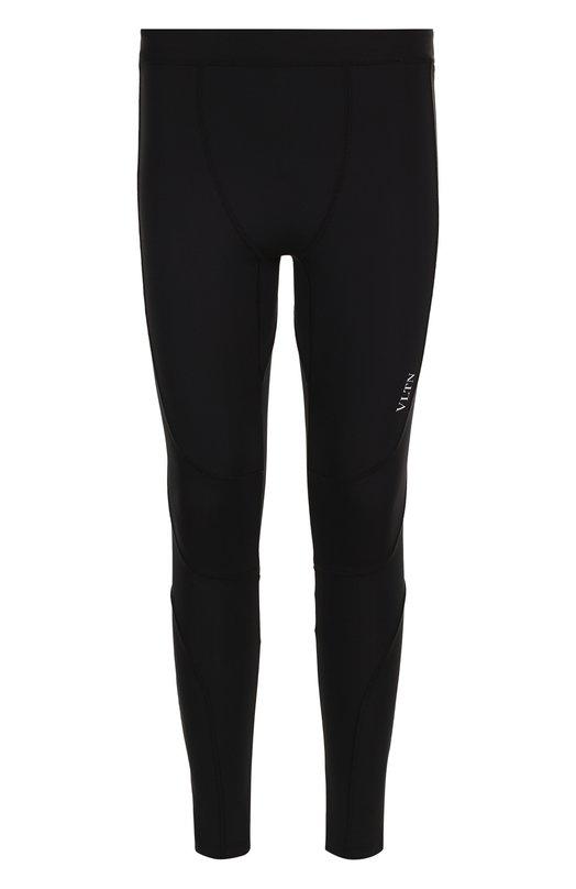 Облегающие брюки с логотипом бренда  Valentino