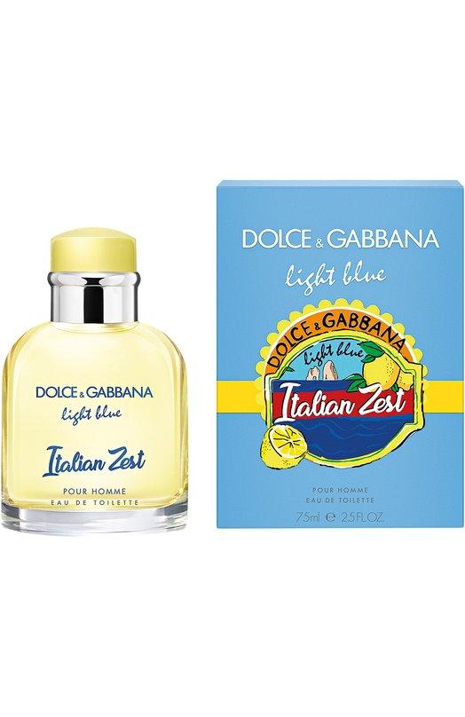 Купить Туалетная вода Light Blue Pour Homme Italian Zest Dolce & Gabbana, 3045750DG, Италия, Бесцветный