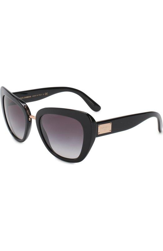 Купить Солнцезащитные очки Dolce & Gabbana, 4296-501/8G, Италия, Черный