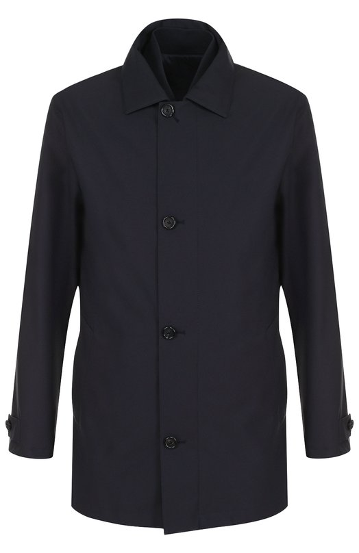 Купить Однобортное пальто на молнии с подстежкой Z Zegna, VP040/ZZ222, Китай, Темно-синий, Полиэстер: 100%; Подкладка-полиэстер: 100%;
