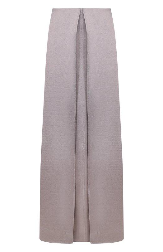 Однотонная юбка-макси из вискозы Valentino