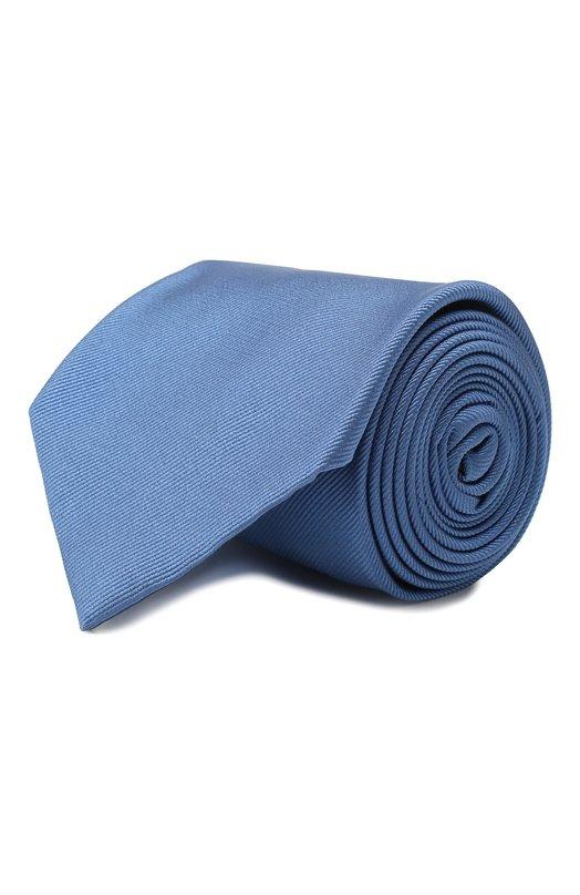 Купить Шелковый галстук Brioni, 062I00/PZ418, Италия, Голубой, Шелк: 100%;