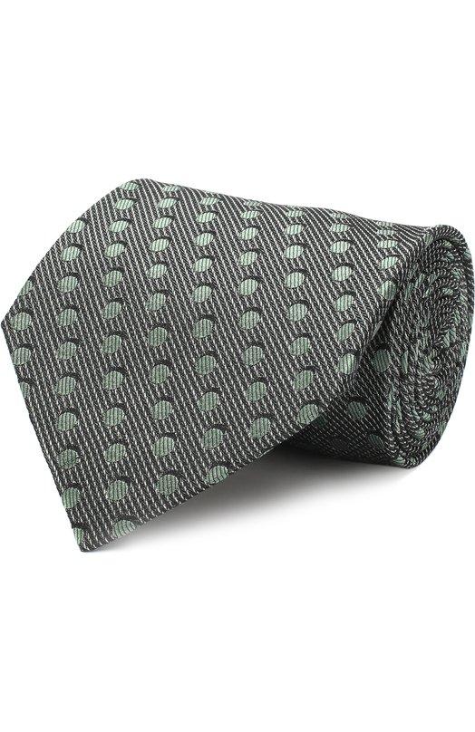 Купить Шелковый галстук Tom Ford, 3TF48/XTF, Италия, Зеленый, Шелк: 100%;
