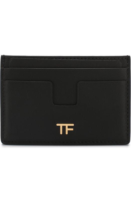 Купить Кожаный футляр для кредитных карт Tom Ford, S0250T-CE7, Италия, Черный, Кожа натуральная: 100%;