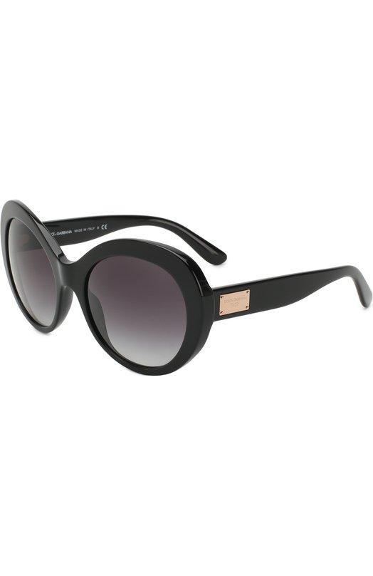 Купить Солнцезащитные очки Dolce & Gabbana, 4295-501/8G, Италия, Черный