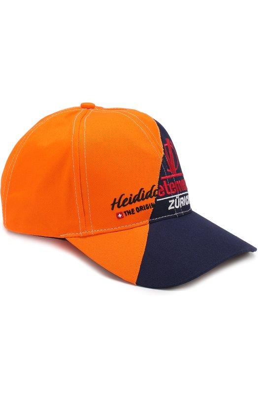 Купить Хлопковая бейсболка Vetements, WSS18AC20, Китай, Темно-синий, Хлопок: 100%;