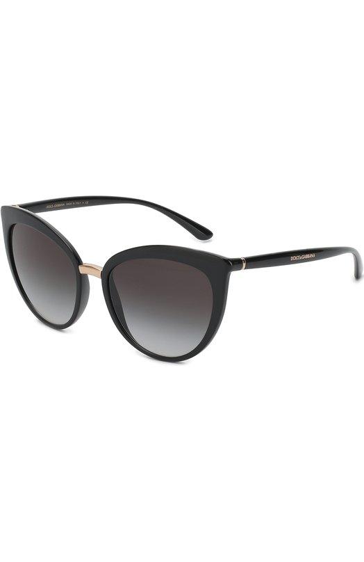Купить Солнцезащитные очки Dolce & Gabbana, 6113-501/8G, Италия, Черный