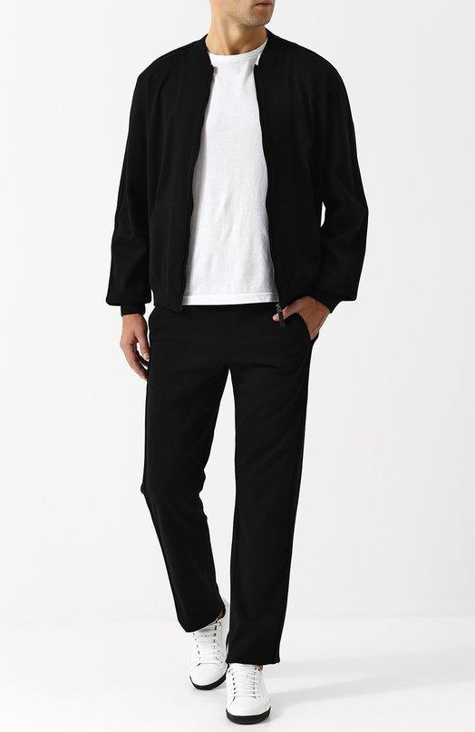 Купить Хлопковый спортивный костюм Brioni, UJ6L0L/07609, Италия, Черный, Хлопок: 96%; Эластан: 4%;