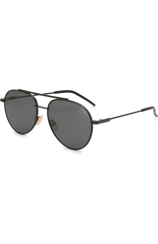 Купить Солнцезащитные очки Fendi, 0222 807, Италия, Черный