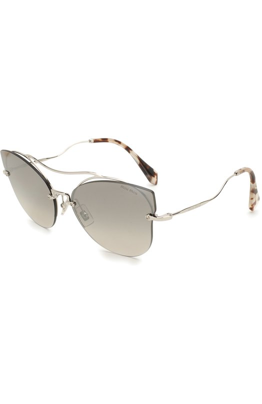 Купить Солнцезащитные очки Miu Miu, 52SS-1BC500, Италия, Серый