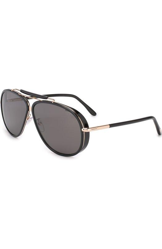 Купить Солнцезащитные очки Tom Ford, TF562-K, Италия, Черный