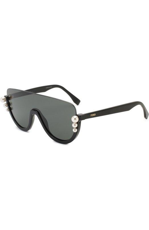 Купить Солнцезащитные очки Fendi, 0296 807, Италия, Черный