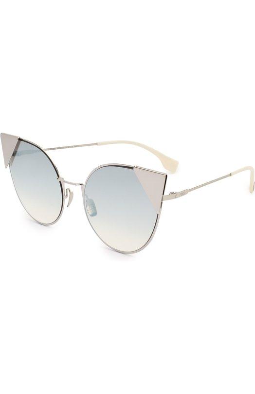 Купить Солнцезащитные очки Fendi, 0190 010 IC, Италия, Серебряный