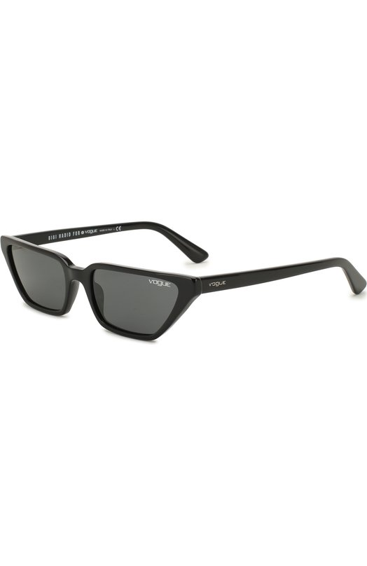 Купить Солнцезащитные очки Vogue Eyewear, 5235S-W44/87, Италия, Черный