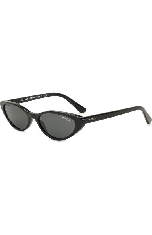 Купить Солнцезащитные очки Vogue, 5237S-W44/87, Италия, Черный