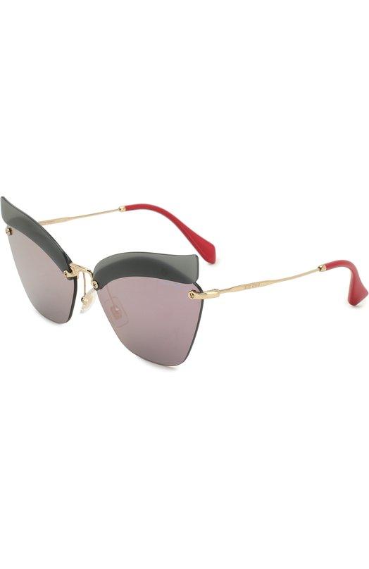 Купить Солнцезащитные очки Miu Miu, 56TS-I18147, Италия, Разноцветный