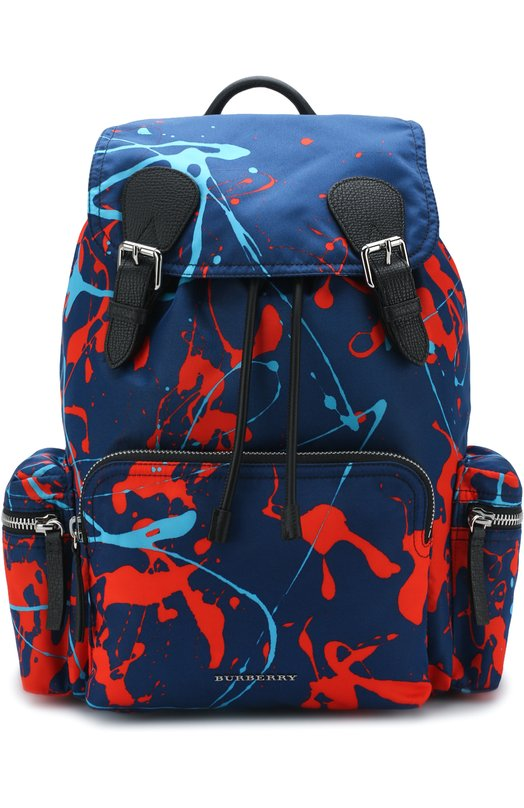 Текстильный рюкзак с принтом Splash Burberry