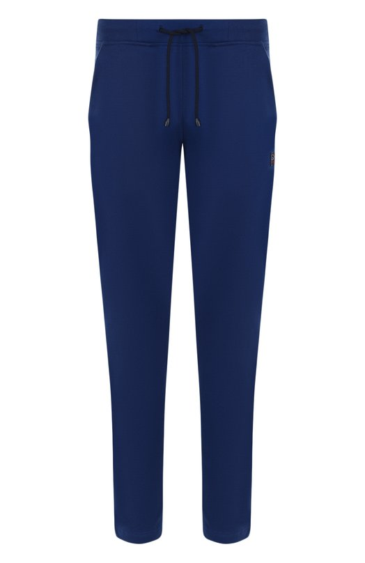 Купить Хлопковые брюки прямого кроя Paul&Shark, A18P1906, Италия, Синий, Хлопок: 100%;