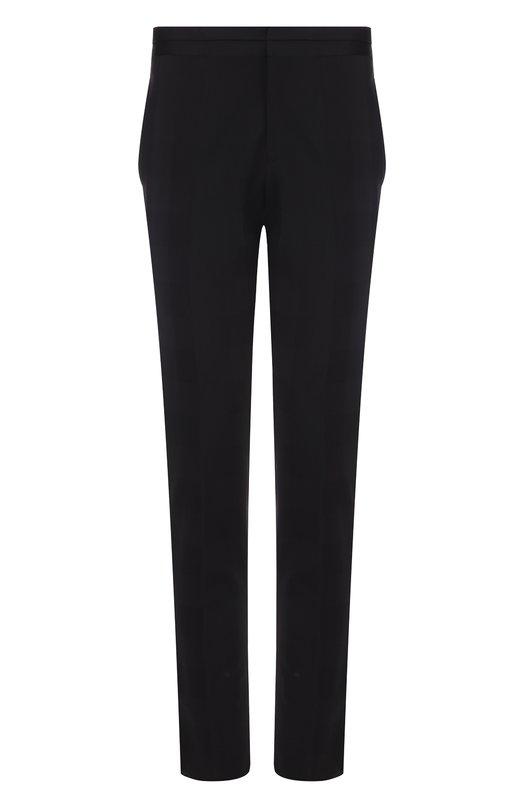 Шерстяные брюки прямого кроя  Versace