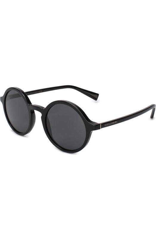 Купить Солнцезащитные очки Dolce & Gabbana, 4342-501/87, Италия, Черный