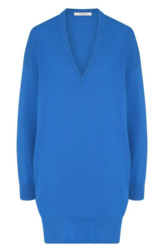 Купить Пуловер свободного кроя из смеси шерсти и кашемира Dorothee Schumacher, 912102, Китай, Синий, Шерсть: 70%; Кашемир: 30%;