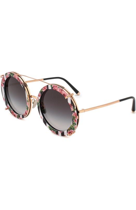 Купить Солнцезащитные очки Dolce & Gabbana, 2198-12988G, Италия, Черный