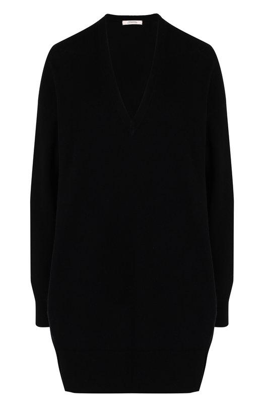 Купить Пуловер свободного кроя из смеси шерсти и кашемира Dorothee Schumacher, 912102, Китай, Черный, Шерсть: 70%; Кашемир: 30%;