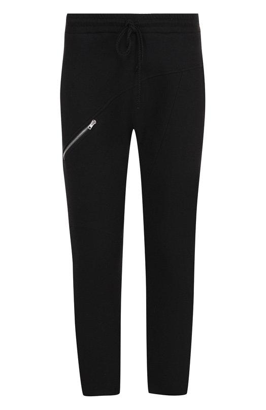 Купить Хлопковые брюки прямого кроя Lost&Found, M23.551.623R, Италия, Черный, Хлопок: 100%;
