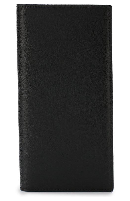 Купить Кожаный футляр для кредитных карт Smythson, 1011363, Италия, Черный, Кожа: 100%;