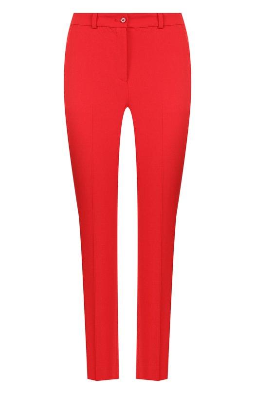 Укороченные шерстяные брюки со стрелками  Michael Kors Collection