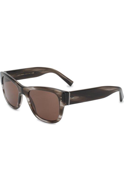 Купить Солнцезащитные очки Dolce & Gabbana, 4338-318773, Италия, Коричневый