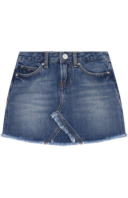Купить Джинсовая мини-юбка Tommy Hilfiger, KG0KG03362/1, Тунис, Синий