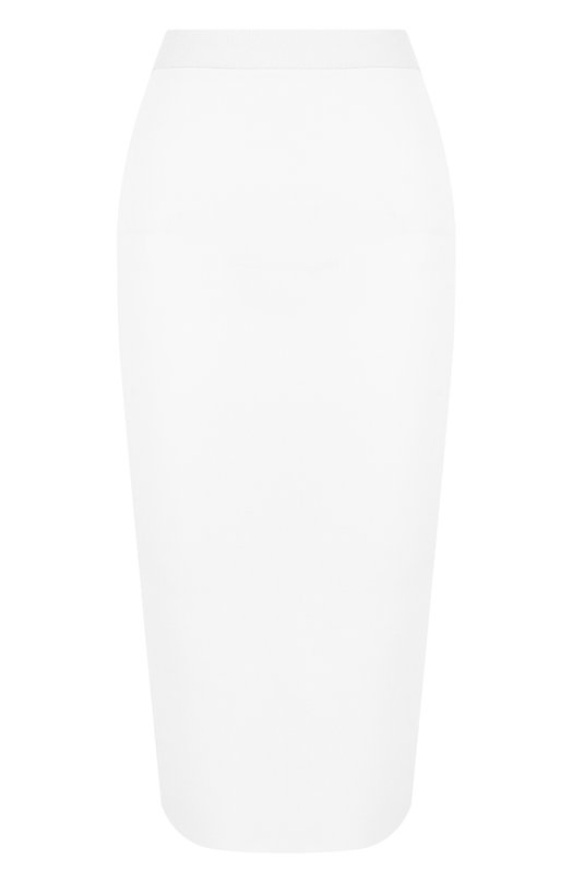 Однотонная юбка-карандаш с эластичным поясом Giorgio Armani Giorgio Armani