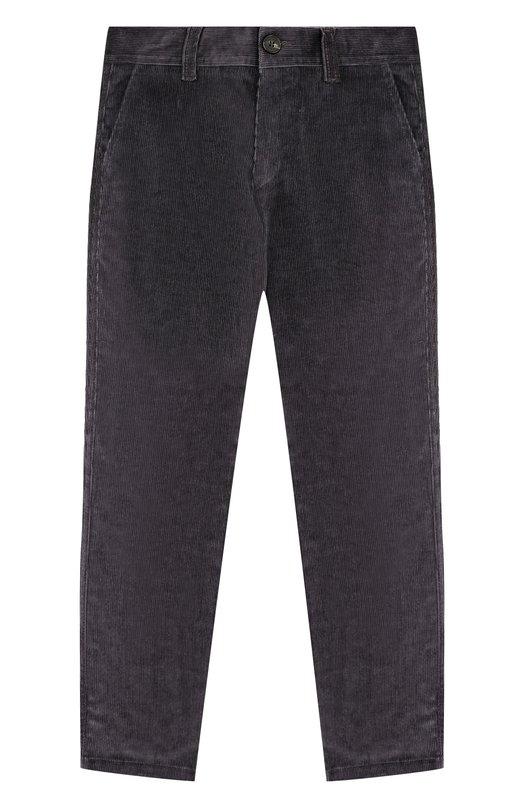 Купить Вельветовые брюки прямого кроя Dal Lago, N107/2215/4-6, Италия, Серый, Хлопок: 98%; Эластан: 2%;