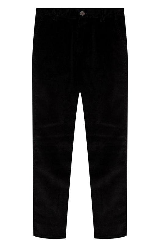 Купить Вельветовые брюки прямого кроя Dal Lago, N107/2215/XS-L, Италия, Черный, Хлопок: 98%; Эластан: 2%;