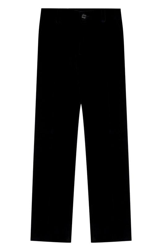 Купить Хлопковые брюки прямого кроя Dal Lago, N107/7712/4-6, Италия, Синий, Хлопок: 100%;