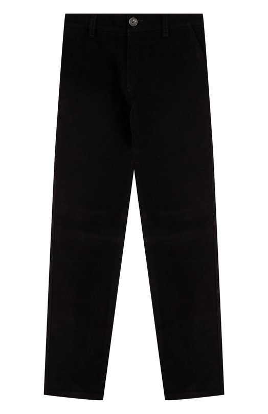 Купить N107/7930/4-6, Хлопковые брюки прямого кроя Dal Lago, Италия, Черный, Хлопок: 100%;, Мужской, Брюки