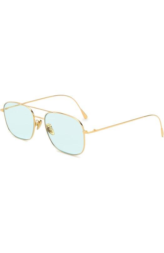 Купить Солнцезащитные очки CutlerandGross, 1267GPL/DPLBL, Италия, Золотой