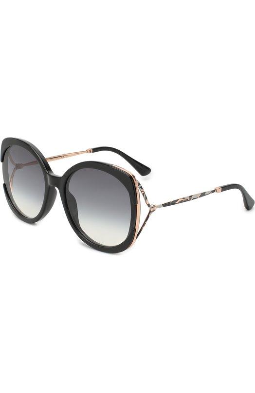 Купить Солнцезащитные очки Jimmy Choo, LILA 807, Италия, Черный