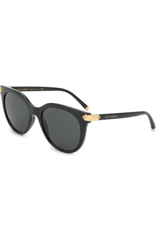Купить Солнцезащитные очки Dolce & Gabbana, 6117-501/87, Италия, Черный