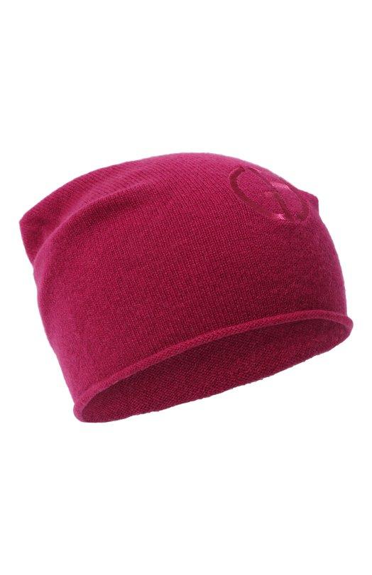 Купить Кашемировая шапка бини Giorgio Armani, 797362/8A502, Италия, Фуксия, Кашемир: 100%;