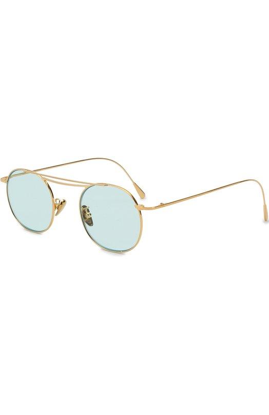 Купить Солнцезащитные очки CutlerandGross, 1268GPL/DPLBL, Италия, Бирюзовый