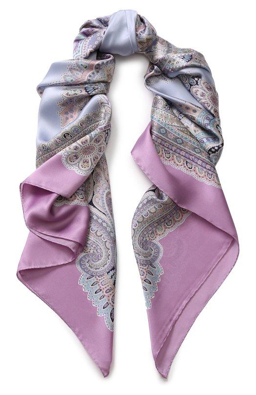 Шелковый платок с принтом Michele Binda Michele Binda