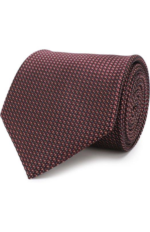 Купить Шелковый галстук Brioni, 062I00/0740I, Италия, Бордовый, Шелк: 100%;