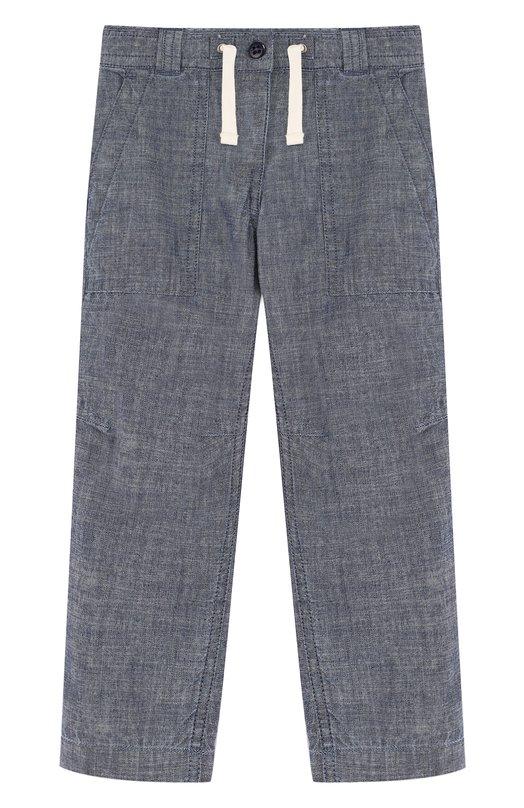 Купить Джинсы прямого кроя с поясом на кулиске Polo Ralph Lauren, 321692102, Индия, Голубой, Хлопок: 100%;