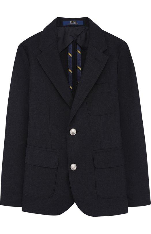 Пиджак на двух пуговицах Polo Ralph Lauren